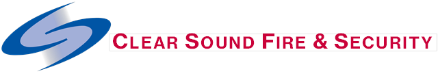 Clear sound Fire & Security logo