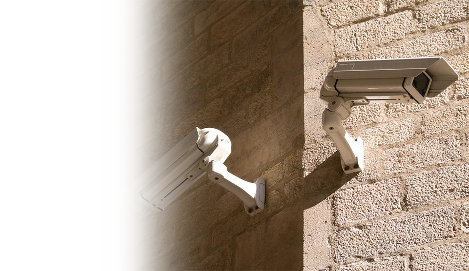 fixed housing cctv